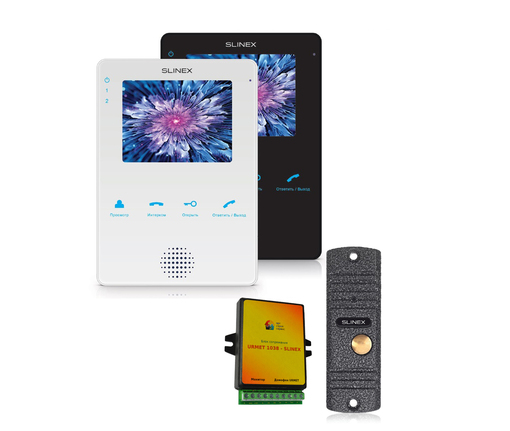 Комплект видеодомофона URMET Slinex MS-04+ML16