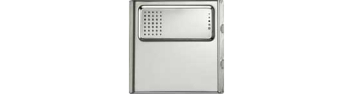 Модуль Urmet Sinthesi Steel с переговорным устройством без клавиши вызова