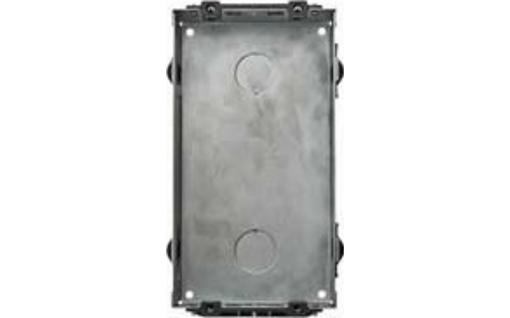 Монтажная коробка Urmet Sinthesi Steel на 2 модуля (врезная)