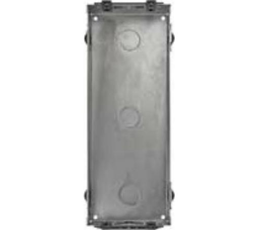 Монтажная коробка Urmet Sinthesi Steel на 3 модуля (врезная)