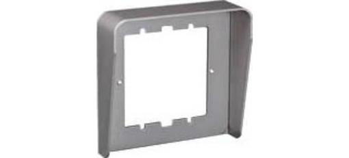 Однорядный козырек панели вызова Urmet Sinthesi Steel на 1 модуль