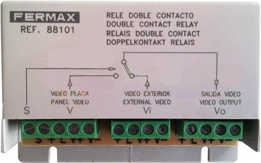 Двойное Contact relay 88101 FERMAX для системы VDS