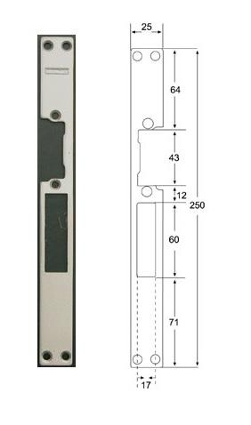 Планка Fermax FE 2985