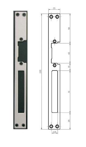 Планка Fermax FE 3088
