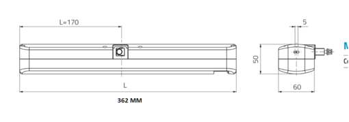 Цепной электропривод Mingardi MICRO + KIT